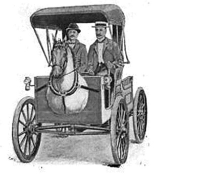 Horsey Horseless Carriage