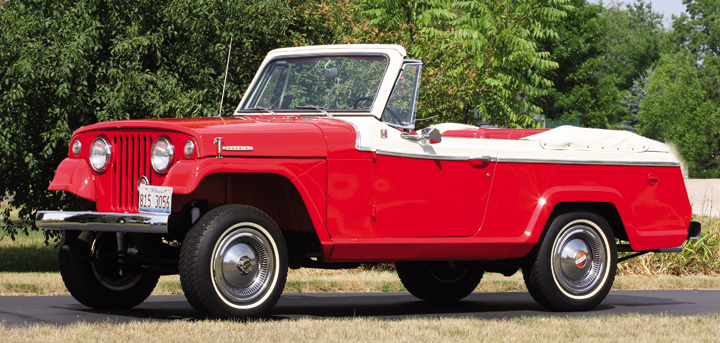 Photo Feature 1968 Kaiser Jeep Jeepster Convertible The