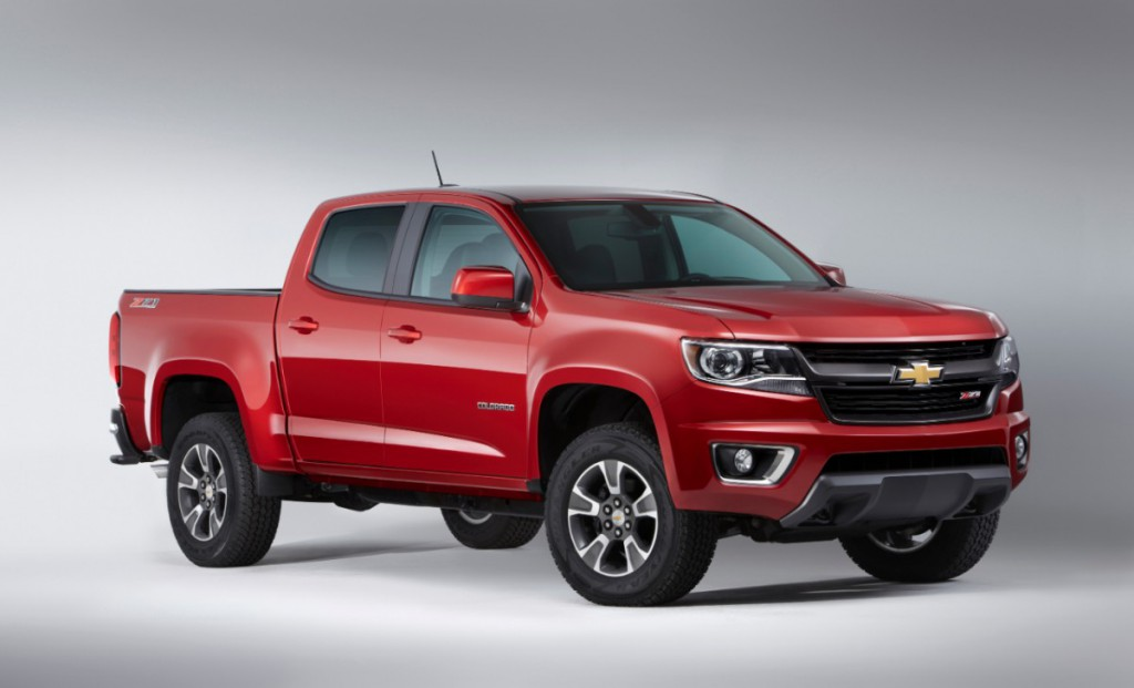 Chevrolet Colorado Redesign