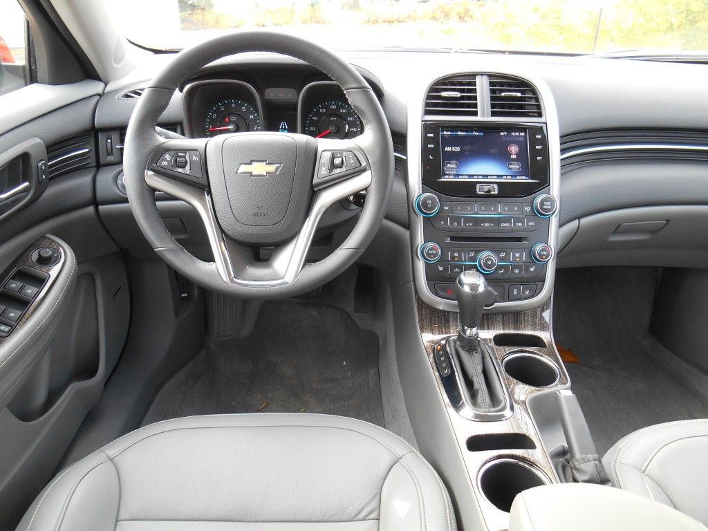 High Quality 2014 Chevrolet Malibu Interior Good Looking