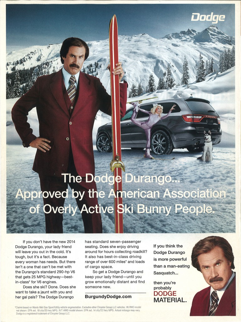 Dodge Material Campaign