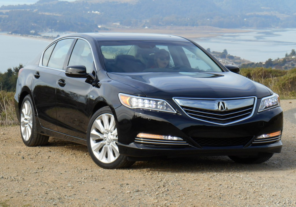 2014 Acura Rlx Sport Hybrid Sh Awd First Drive Long Name Lots Of