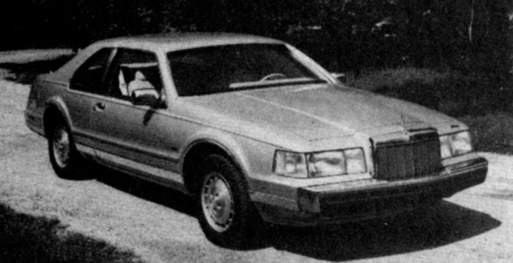 1985 Lincoln Mark VII Turbodiesel