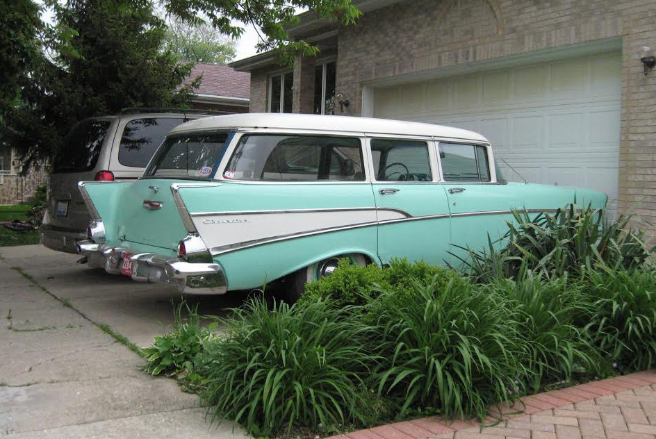 1957 Chevrolet 210 wagon, Cars From My Neighborhood