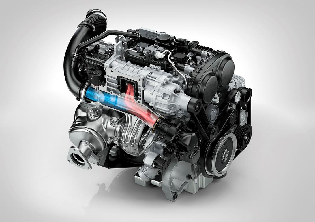 Volvo Drive-E Engine