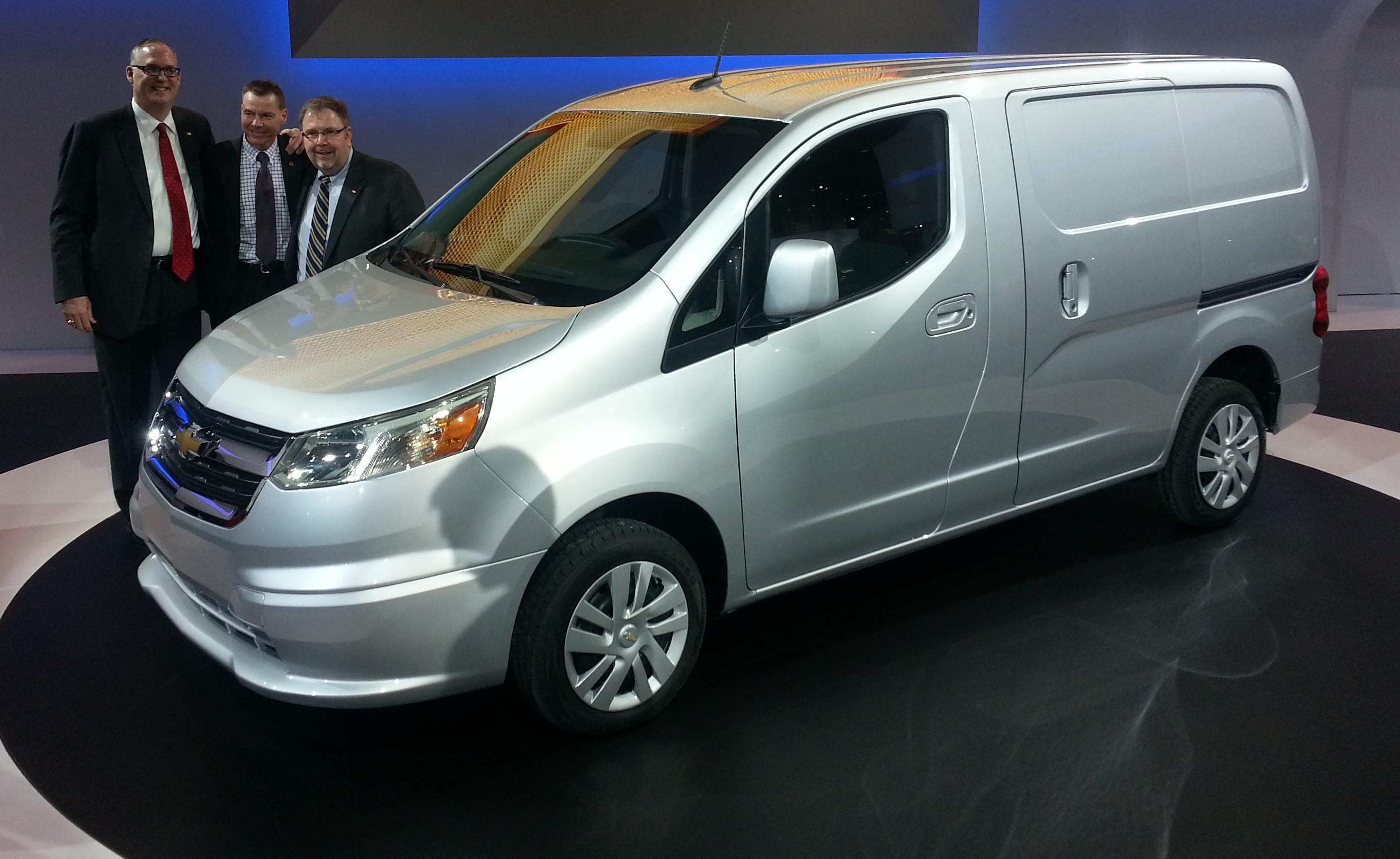 2015 Chevrolet City Express: GM Taps Nissan For a Small ...