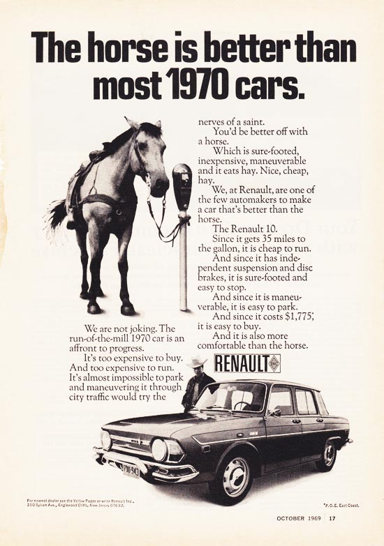 Renault-The-Horse-is-Better-Than-Most-1970-Cars