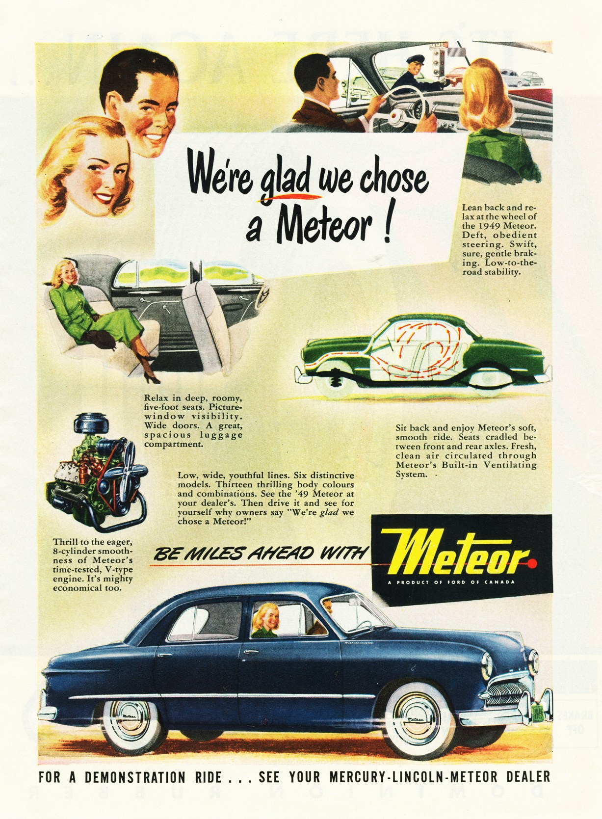 1949 Meteor Ad-0a