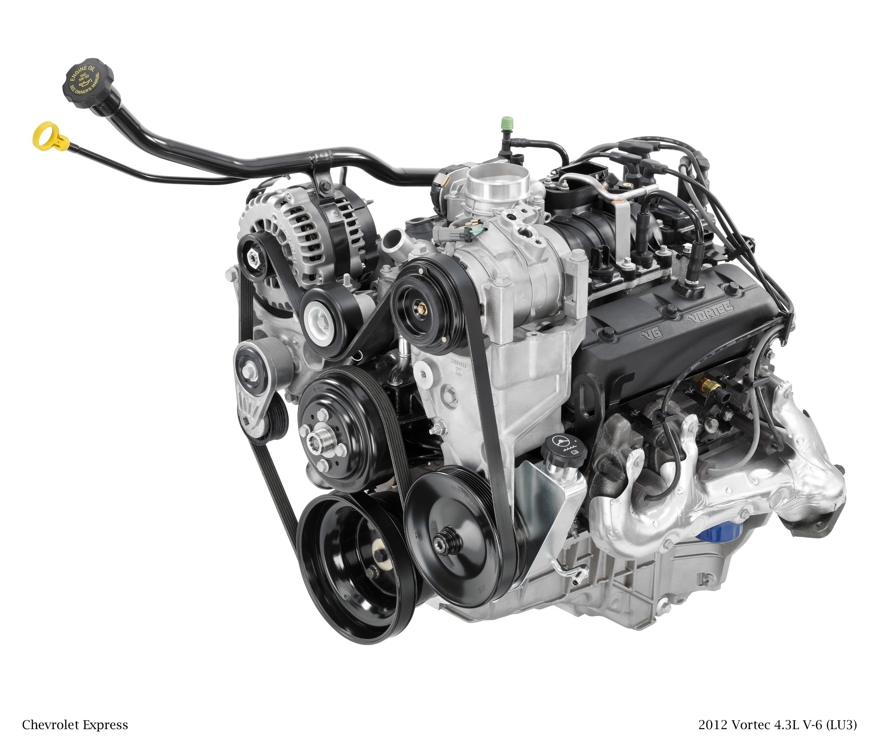 2012 Vortec 4.3L V-6 (LU3) for Chevrolet Express, Engines We're Happy to See Retire