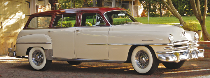 Photo Feature 1953 Chrysler New Yorker Town Country