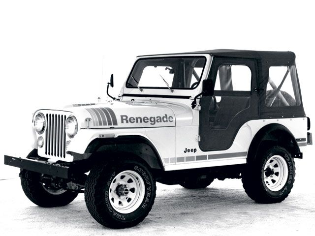 2015 Renegade, Jeep CJ5