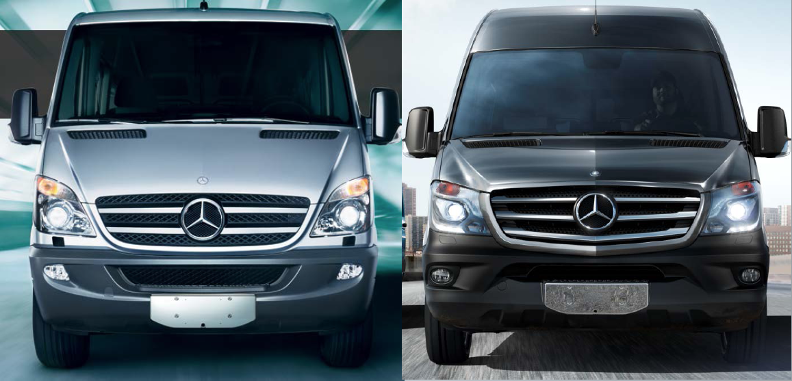 2014 mercedes benz sprinter updating the original the for Mercedes benz sprinter 2014