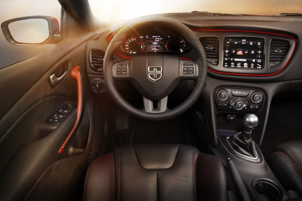 2014 Dodge Dart GT interior