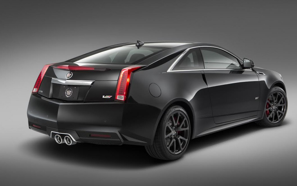 Cadillac Sends Off Second-Generation CTS-V With a Run of 500 Special