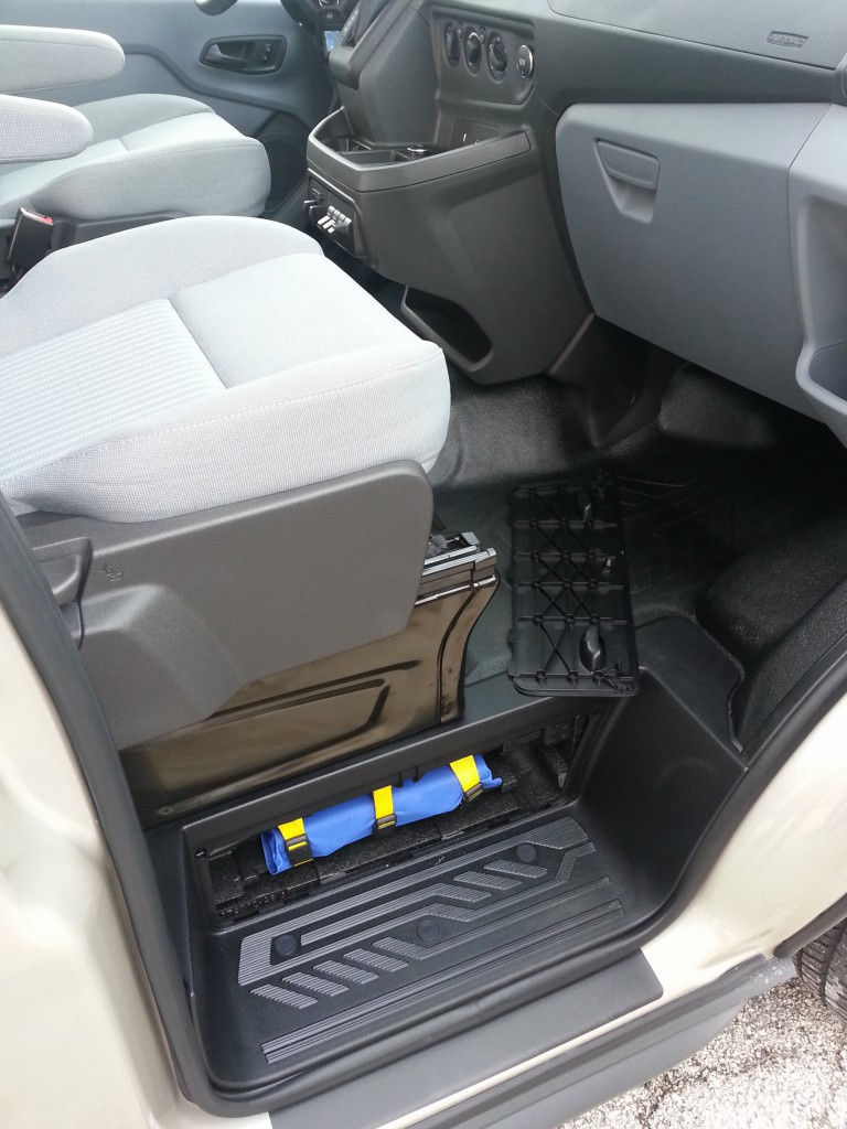 2015 Ford Transit door opening
