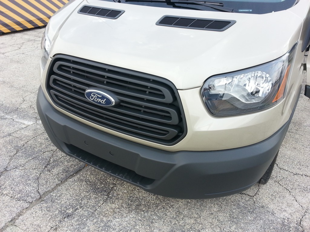 2015 Ford Transit front-end