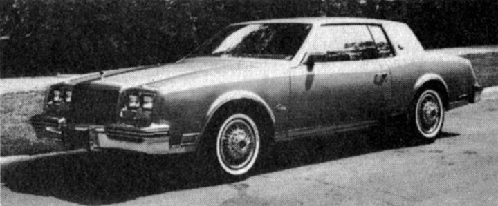 1985 Buick Riviera Review