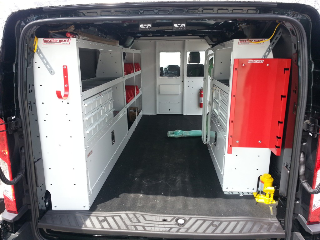 Outfitted for Work: The Ford Transit Upfitter Gallery ...