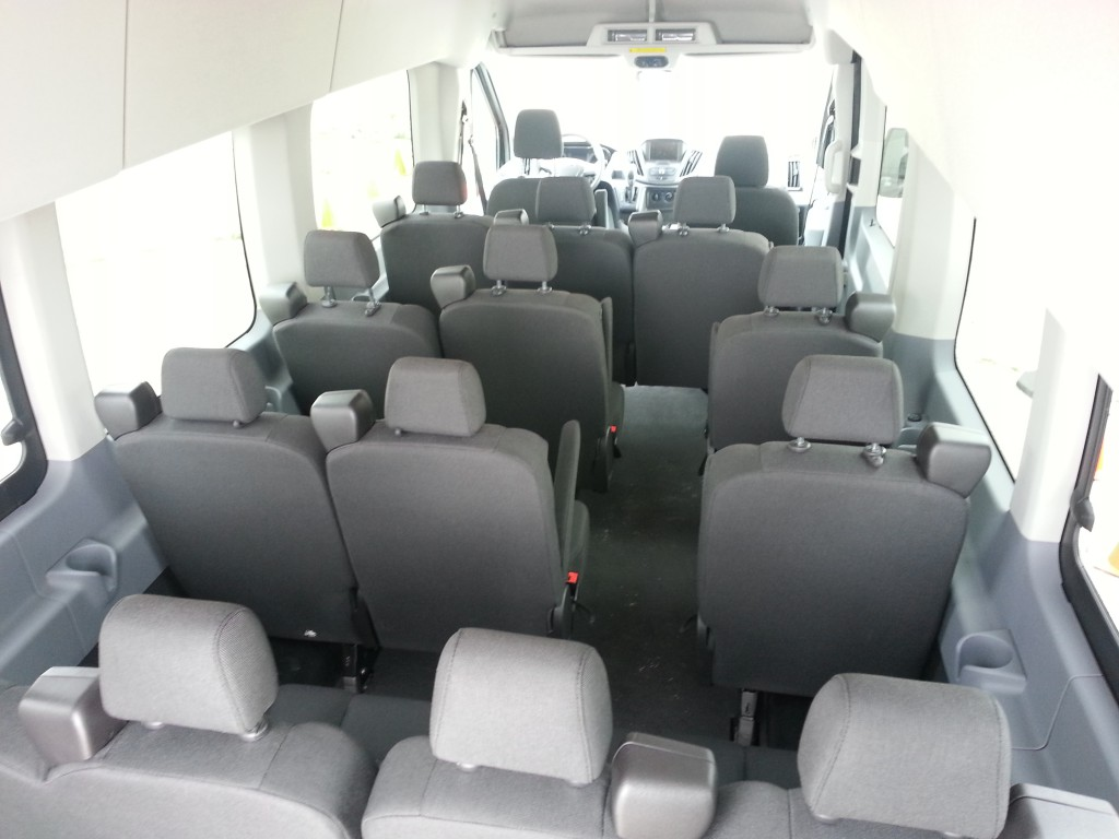 New age hauler 2015 ford transit van debuts the daily drive consumer guide the daily drive for Ford transit wagon 15 passenger interior