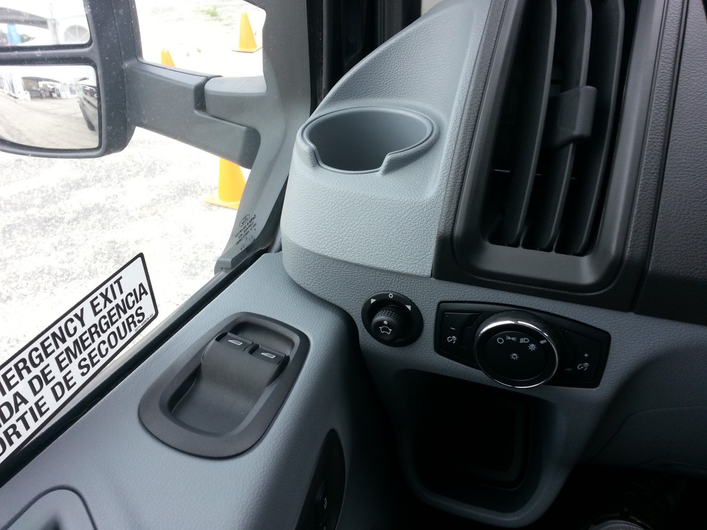 2015 Ford Transit door inside