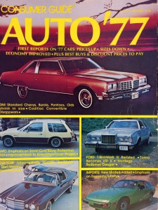 the 5 most expensive american cars of 1977 the daily drive rh blog consumerguide com Consumer Cartoon consumer guide magazine auto series