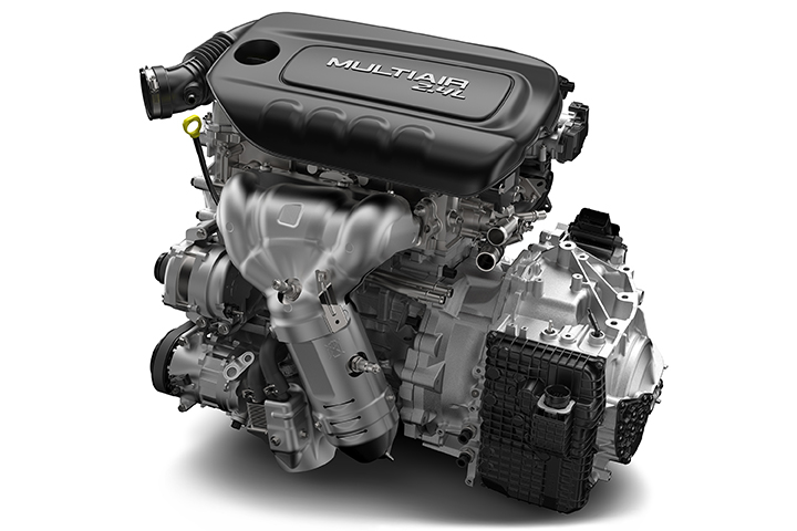 2015 Ram ProMaster City 2.4-liter Tigershark engine with 9-speed