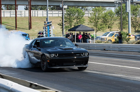 2015 Dodge Challenger Hellcat, drag strip
