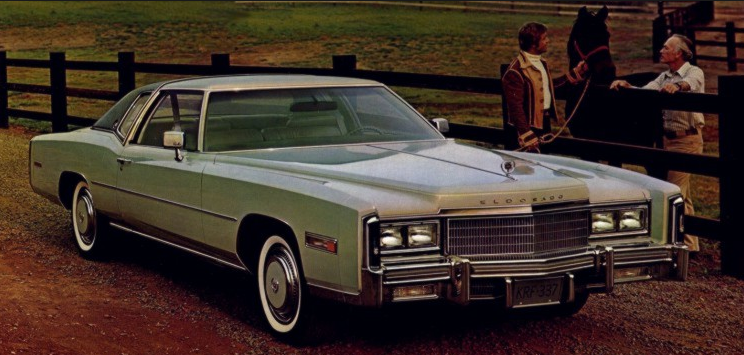 1977 Cadillac Fleetwood Eldorado, Most-Expensive American Cars of 1977