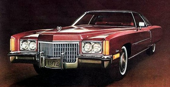 eldo1972coupecambridgered, Most-Expensive American Cars of 1972