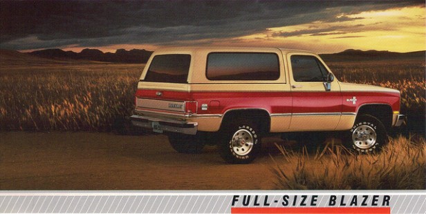 full size 4wd the big rigs of 1989 the daily drive. Black Bedroom Furniture Sets. Home Design Ideas