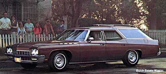 1972 Buick Estate Wagon, Most-Expensive American Wagons of 1972