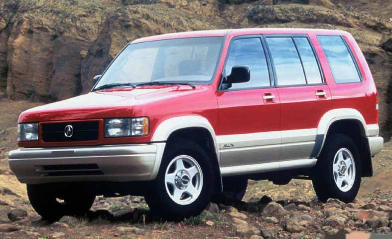 1996 Acura SLX, Early Japanese SUVs