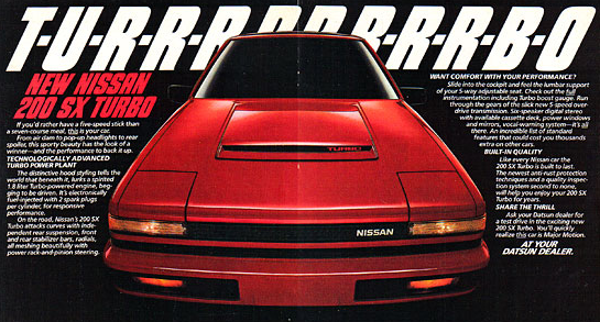 1985 Nissan 200SX Turbo