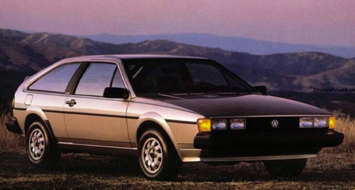 1985 Volkswagen Scirocco, Sporty Coupes of 1985