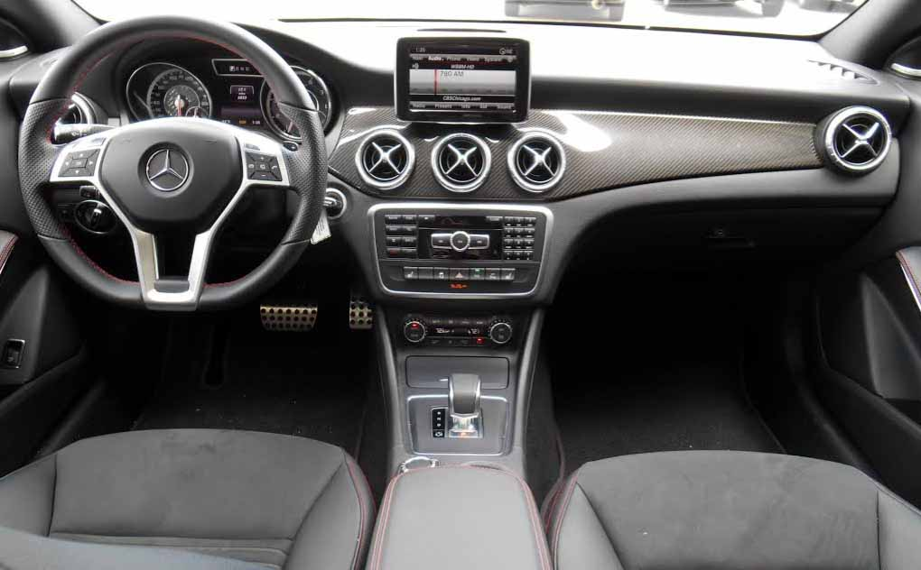 2014 Mercedes-Benz CLA45 AMG interior
