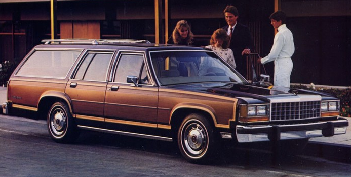 1990 Ford LTD Crown Victoria LX Country Squire