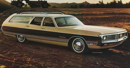 Chrysler Town Country Woody