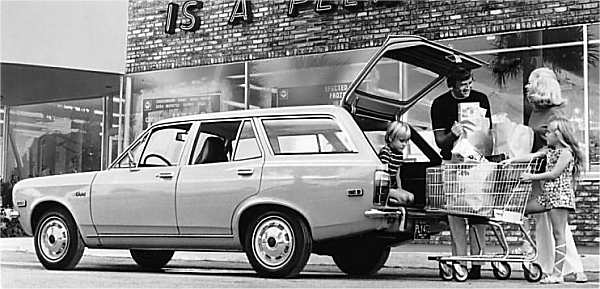 1973 Plymouth Cricket Station Wagon