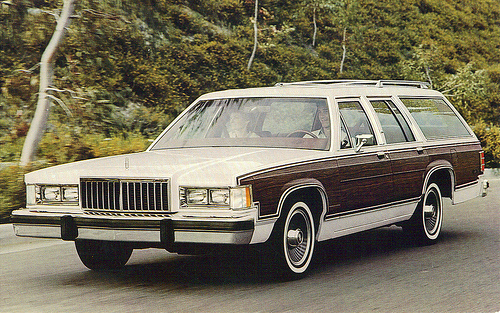 1990 Mercury Grand Marquis Colony Park LS