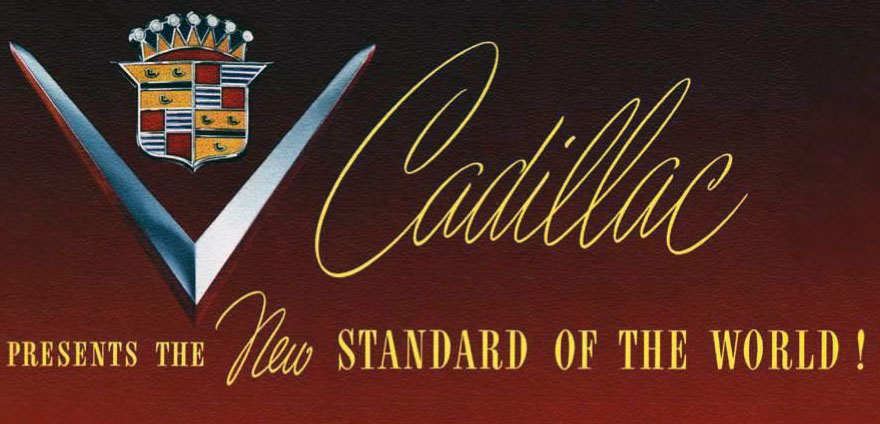 Cadillac, The Standard of the World. 2016 LTS.