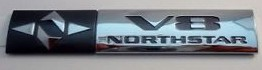 Cadillac Northstar Badge