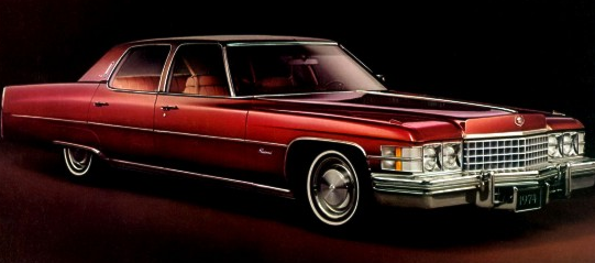 1974 Cadillac Fleetwood 60 Special Brougham