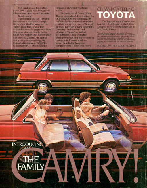 1983 Toyota Camry ad