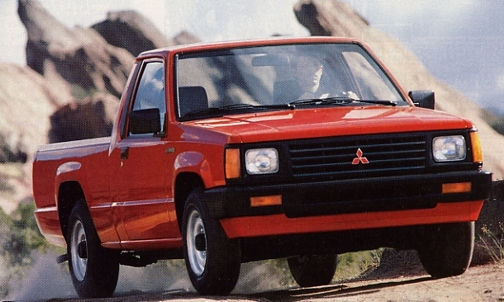 Mitsubishi Mighty Max Red B on Engine 1994 Toyota Pickup 3 0 Liter V6