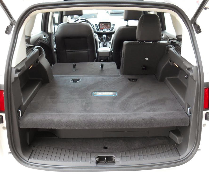 Ford C-Max raise cargo floor