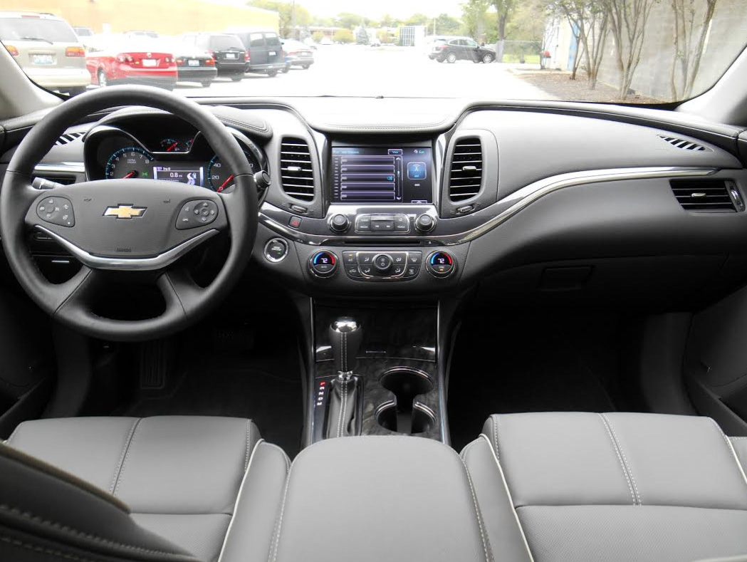 2015 Chevy Impala Interior Images Galleries With A Bite