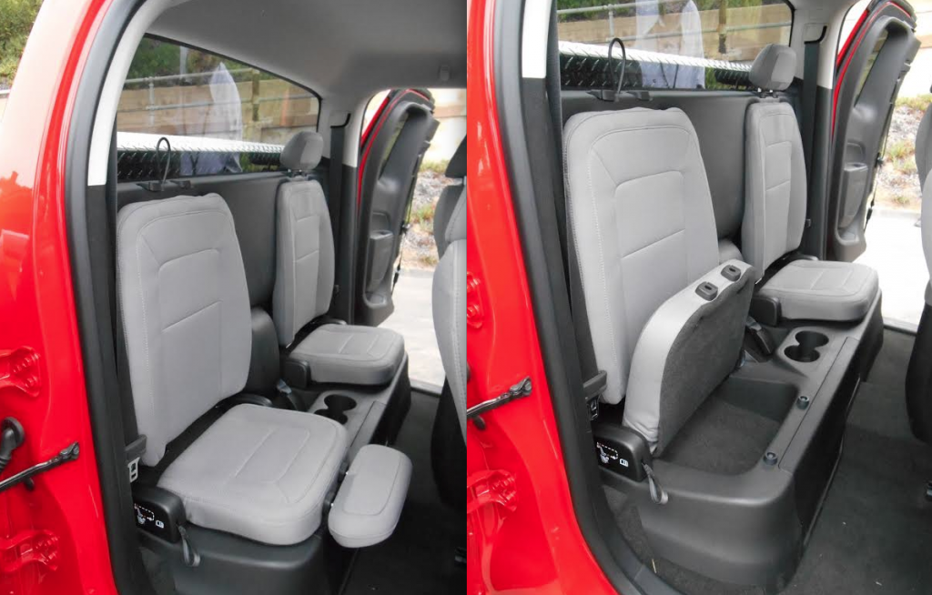 2015 Chevrolet Colorado jump seat