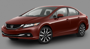 2015 Honda Civic EX-L Sedan Automatic