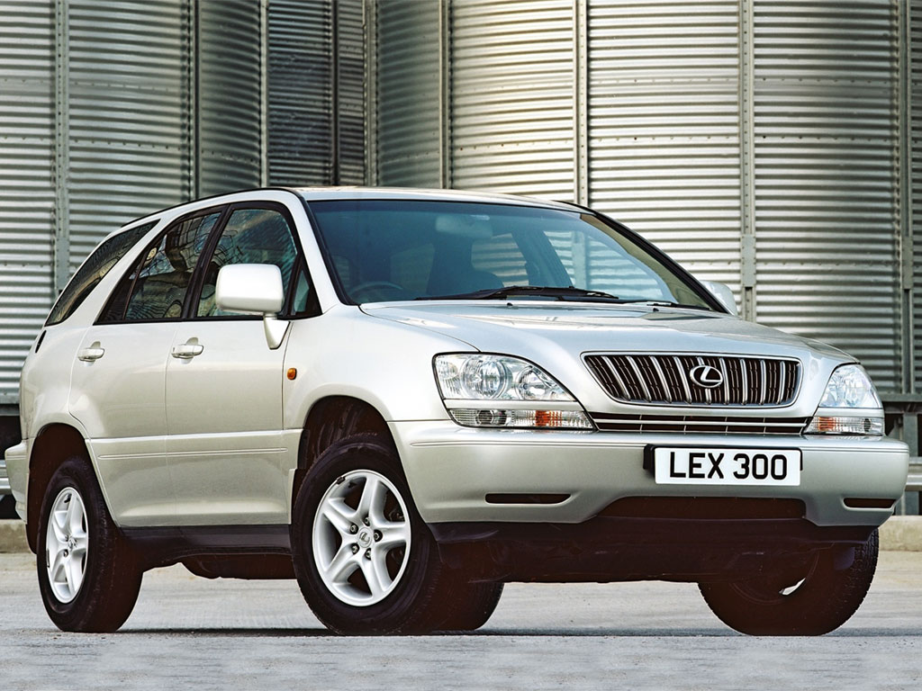 1998 Lexus RX300, 4WD and AWD