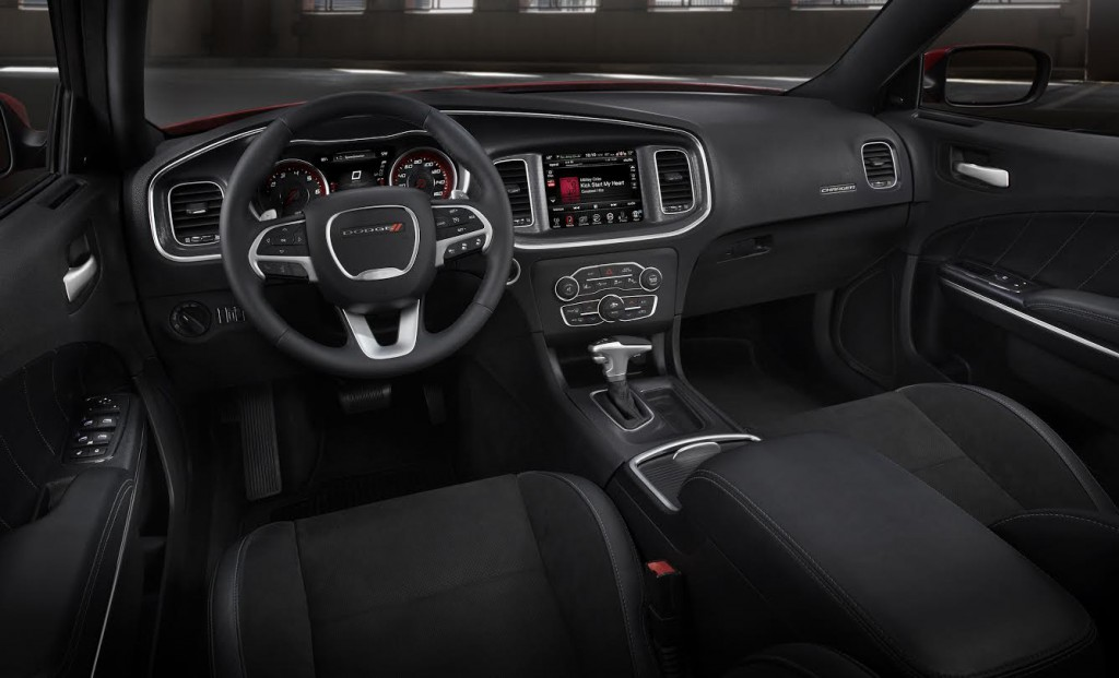 2015 Dodge Charger Cabin